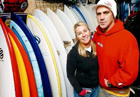 Local Surf Shop Owner Saves Two Lives but Misses a Bitchin' Set