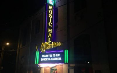 Public Petition from Short Citizens Seeks to Remedy Music Hall Sign
